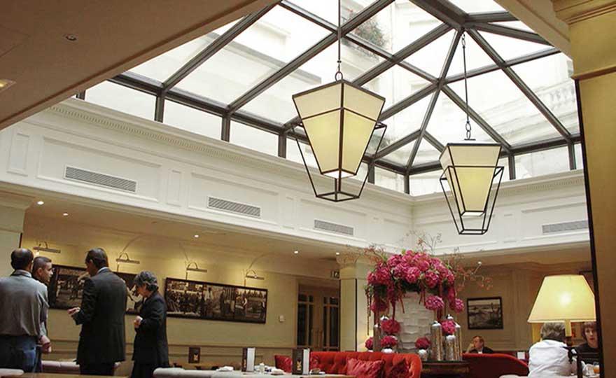 Projets - Rénovation de la salle de restaurant.