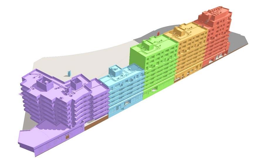 Projets BiM - Découpage des maquettes numériques IFC.