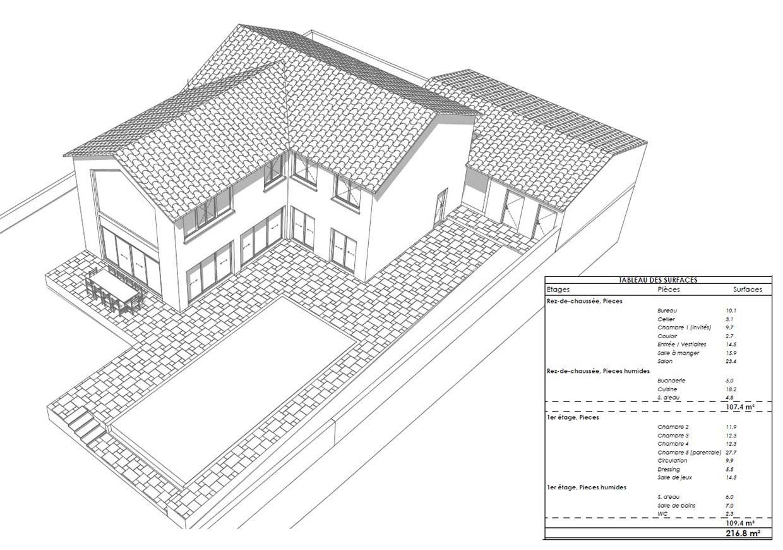 Maquette 3D de plan de vente pour promoteur.