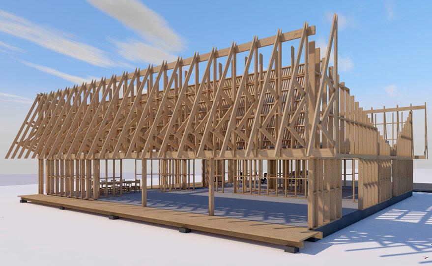 Maquette BiM Structure